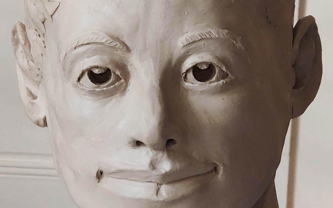 Témoignages… Sculpter un visage humain, même quand on débute, c'est possible !