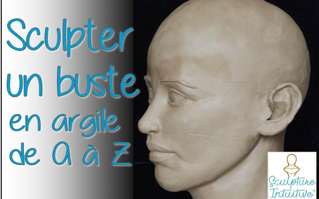 Formation en ligne : «Sculpter un buste en argile de A à Z»