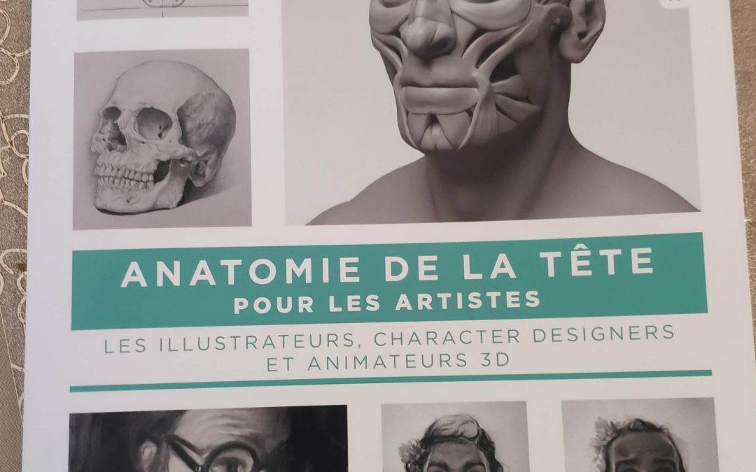 Super livre sur l'anatomie de la tête…